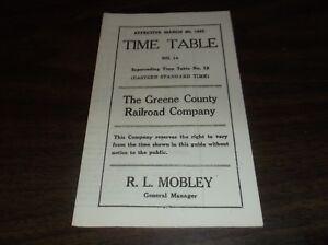 MARCH-1927-GREENE-COUNTY-RAILROAD-PUBLIC-TIMETABLE-13-REPRINT