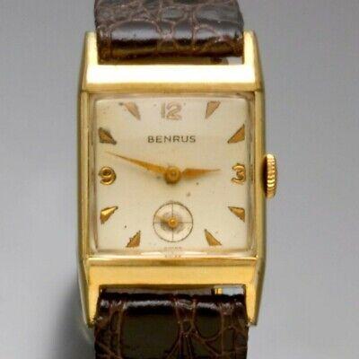 Vintage Benrus Watch 17 Jewel With