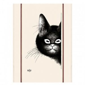 Torchons-amp-Bouchons-French-Cat-Chat-Souris-DUBOUT-Art-Kitchen-Gift-Towel-19-95
