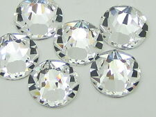 40ss CRYSTAL  HOT FIX swarovski rhinestones 24pcs