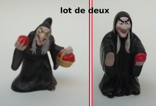 lot de 2 sorcières Disney for McDonald's, figurines collector,collection  **T1