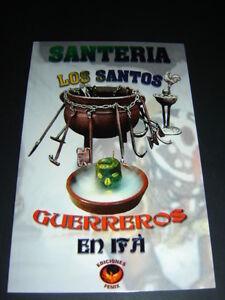Book Santeria Los Santos Guerreros En Ifa Ofrendas Trajes Caminos Omo Libro Ebay