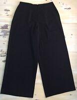Preston & York - $40 Black Wide Leg Dress Work Pants, Sz 14 - Must See
