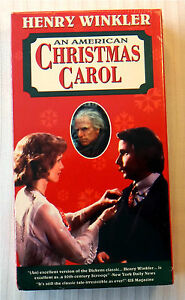 An American Christmas Carol.Details About An American Christmas Carol Vhs Movie Henry Winkler Holiday Classic Video