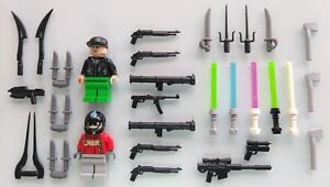 LEGO-Minifigures-and-Accessories-Weapons-Guns-Brand-New-Glow-in-the-dark