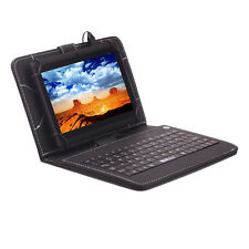 """iRULU Tablet New Multi-Color 7"""" Android 4.4 16GB Dual Core&Cam WIFI w/ Keyboard"""