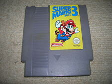 SUPER MARIO BROS 3  - Rare Nintendo NES Game !!!