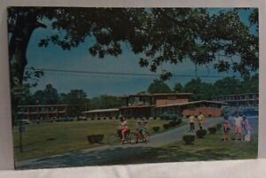 Pleasant-View-Lodge-Gold-Club-Freehold-NY-Exterior-Vtg-Advertising-Postcard