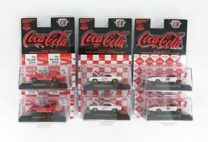 M2-MACHINES 1/64 FORD USA | SET ASSORTMENT 6 PIECES - 2X MUSTANG SHELBY GT350...