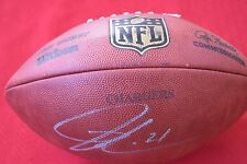 LaDainian Tomlinson Autographed Football NFL San Diego Chargers New York Jets
