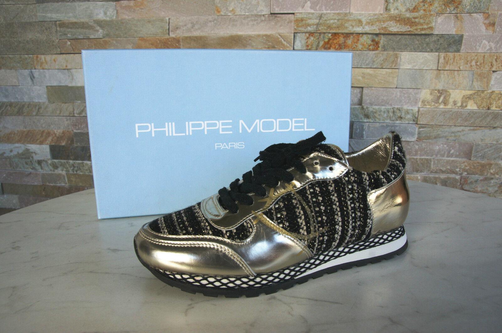 Philippe Model Paris Paris Paris Gr 38 Zapatillas Especial Resau Bassa Zapatos Nuevo Antiguo  buena reputación