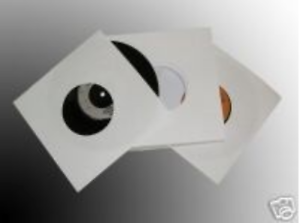 7-034-Inch-White-Paper-Vinyl-Record-Sleeves-45RPM-Inner-Covers-90gsm-25-50-100-200