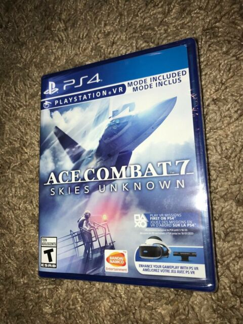 NEW/Sealed Ace Combat 7 Skies Unknown Game for Sony Playstation 4 PS4