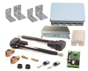 Drehtorantrieb-automatisch-gesteuertes-2-fluegeliges-Trafo-2-Kanal-Controller-J5A