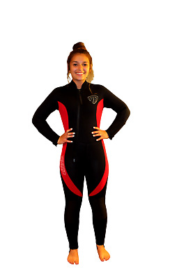 5100 5mm Rear Zip Wetsuit TommyDSports Dive Bye Stretch Series Large