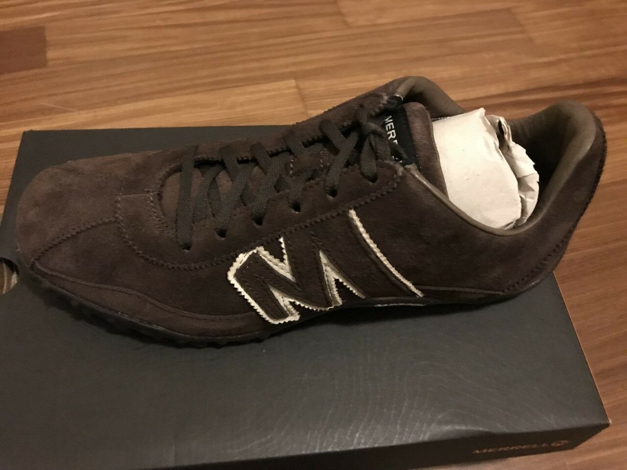 SNEAKER MERRELL SPRINT BLAST LEATHER CHOCOLATE - NR 45 - NUOVE - J598659