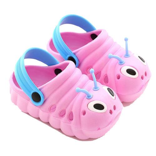 Summer Boys Girls Sandals Garden Shoes EVA Caterpillar Kids Babies Slippers Hot