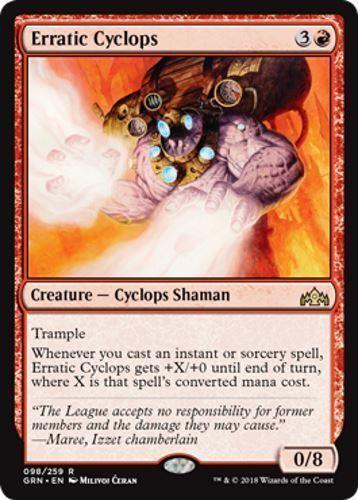 4 Erratic Cyclops