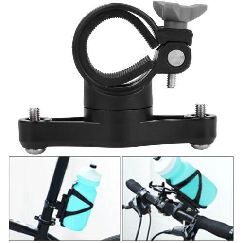 Adapter 360 Degree Rotation Water Cup Holder Bike Bottle Cage Handlebar Mount