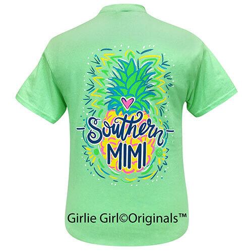 Girlie Girl Originals Tees Southern Mimi Mint Short Sleeve T-Shirt - 2213