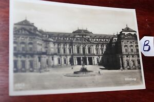 Bien Informé Carte Postale Beyern Würzburg-afficher Le Titre D'origine