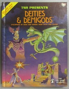Advanced-Dungeons-amp-Dragons-AD-amp-D-Deities-And-Demigods-128-Pages-1E-RARE-1980
