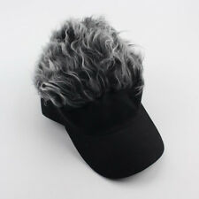 c3e481171f3dc4 Free postage. Golf Fashion Wig Cap Funny Men Adjustable Flair Hair Visor  Casquette Hat