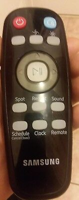 Samsung PowerBot Vacuum Robot Remote Control Oem Sound repeat spot clock button