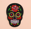 Sugar-Candy-Skull-Iron-On-Patch-Badge-Day-of-the-Dead-Transfer-Jacket-Hat-Bag thumbnail 11