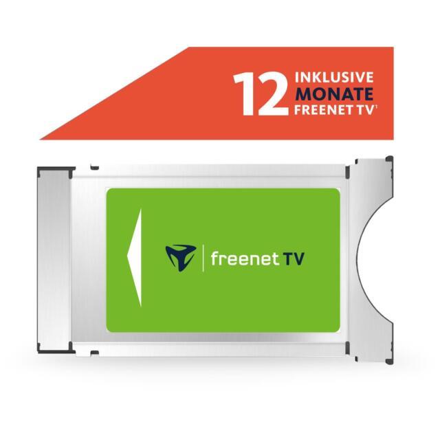 freenet TV CI+ TV Modul DVB-T2 HD mit 12 Monate gratis Guthaben HDTV Antenne