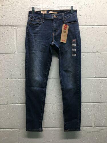 Jeans délavé polyester pour Levis spandex skinny coton 710super femme 1xw1Ufaqg