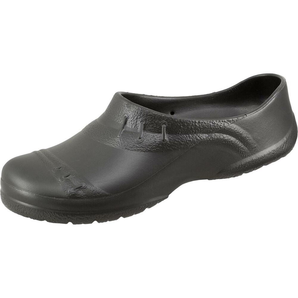Alsa Eva-clog Pantoufles Jardin Chaussures Beetschuhe Super Léger Noir Taille 42