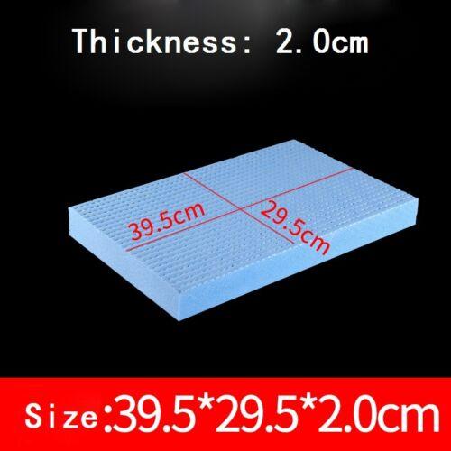 1x Foam Sheet Blue Thicken High Density DIY Craft Dollhouse Model Upholstery New