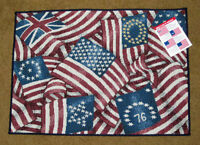 American Flags Of Freedom Tapestry Placemat