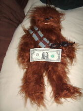 Rare Star Wars 20 Inch Vintage 1977 Kenner Chewbacca, Tag, Full Belt & Weapon