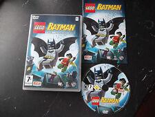 LEGO BATMAN THE VIDEO GAME APPLE MAC-DVD V.G.C. FAST POST ( action/adventure )