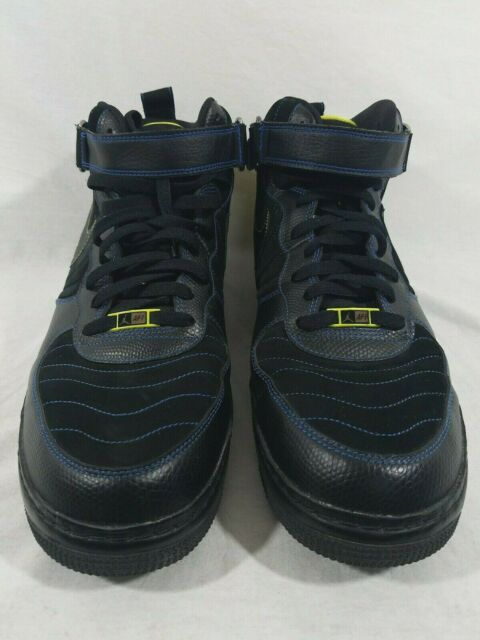 cheaper ad683 134c8 Nike Air Jordan AJF-1 Men's Black Blue Sapphire Retro XII 2010 317742-001  SZ 14