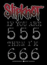 """SLIPKNOT """"666"""" Fabric Poster Oversized 30""""X40"""" Poster Flag NEW"""