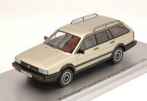 Vw Passat B2 Familcar Gt Syncro 1985 Silver Ed.Lim.Pcs 250 1:43 Kess Model KS430