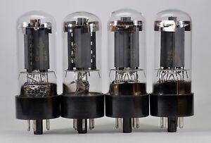 4-x-6P3S-6L6-6L6GT-6L6GC-5881-NEW-TUBES-REFLEKTOR-OTK-NOS