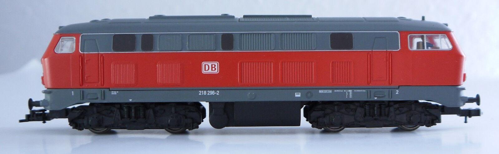 PIKO DB 52500 diesel locomotora BR 218 296-2 - pista HO