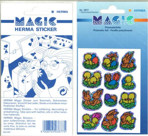 Herma Ostern Magic Sticker mit Prismaticfolie 3877 in OVP