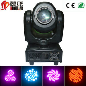 Disco light 10w led DJ moving head spot light night club light Christmas light