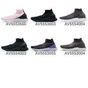 d5810997e4596 Nike Rise React Flyknit Men   Women Wmns Running Slip On Shoes ...