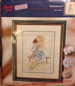 Old Lanarte Cross Stitch kit 34749 Ballet Dancer OOP rare Out of Print.