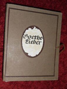 Ida-Berisch-Goethe-Lieder-Wien-Carl-Konegen-um-1920-illustriert