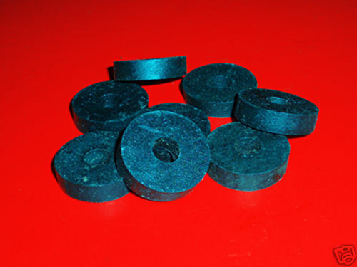 RUBBER WASHER 8PC • NOS Gas Tank Fender Exhaust Silencer Number Plate Vintage MX