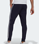 thumbnail 4 - New Mens Adidas Essential Fleece Tapered Cuff Pants Sweatpants Joggers 3 Stripe