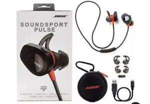 Heavyduty Bose soundsport pulso Auriculares Auriculares inalámbricos cogollos Rojo