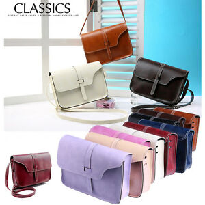 8e6cbb5b1be1 Image is loading Fashion-Women-Leather-Shoulder-Bag-Handbag-Messenger-Hobo-